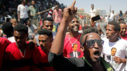 Image copyright REUTERS Image caption Ethiopia has been hit by three years of protests